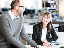 Mitarbeiter fördern, fordern und binden