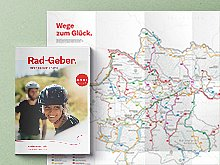 Rad-Geber. Touren-Tipps und Karte